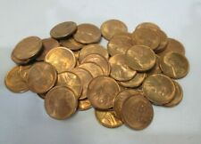 US Roll of UNC 1945 D Lincoln Wheat Pennies *