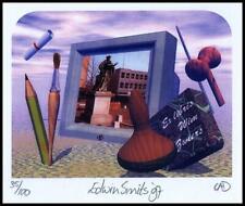 Smits Edwin 1997 Exlibris CRD Bookplate 2021