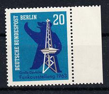 Berlin (West)  Briefmarken 1963 Funkausstellung  Mi.Nr.232 ** postfrisch Rand