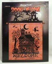 Spooky Welcome Cross Stitch Chart Pattern Booklet Stoney Creek Collection 259