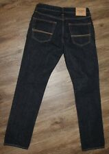 Abercrombie & Fitch THE SKINNY Dark Wash Low Rise Jeans ~ Mens Size 31 x 32