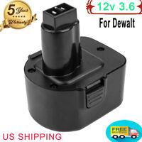12V 3.6Ah For Dewalt 12Volt Battery XRP DW9072 DC9071 DW9072 DC742KA DE9074-2