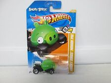 Hot Wheels 2012 New Models Angry Birds Minion Pig