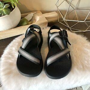 Chaco ZX/1 Unaweep Sport Sandal Men size 7 Black Gray White