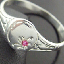 Handmade Signet Sterling Silver Fine Rings
