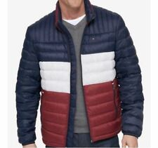 Tommy Hilfiger Packable Puffer Down Jacket Blue White Red...