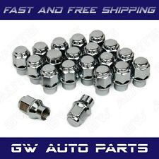 "20PCs ET CHROME BULGE ACORN LUG NUTS  1/2""-20 Hex 3/4"""