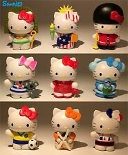 SANRIO 9pc Set Hello Kitty Travel the World Figure Figurine Cake Topper Toy New