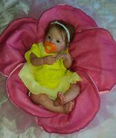 Bambola Reborn Baby Doll Realistic Newborn Lifelike vinyl Baby Doll Handmade
