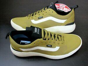 Vans Men's UltraRange Exo Skate Trail shoes Dijon Antique White Size 9 NWT