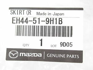 Genuine OEM Mazda EH44-51-9H1B Passenger Front Air Dam Skirt 2010-2012 CX-7