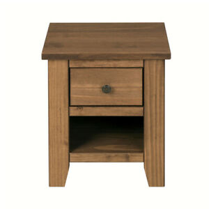Lamp Table ( Bedside ) - Pine