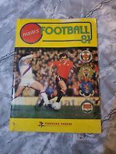 Panini Football 81 Album Complete