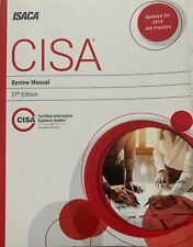 MINT CONDITION - Paper back - 27th Edition CISA CRM - Exam Review Manual (2019)