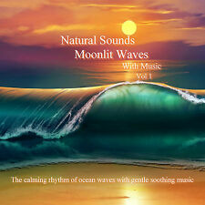 Natural Sounds Relaxing Moonlit Waves With Music CD Vol 1 Relaxation Sleep Aid