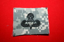 GENUINE US ARMY CAMO PAINTBALL MASTER PARACHUTE WING INSIGNIA CLOTH ACU