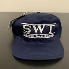Southwest Texas University Split Bar Snapback Hat The Game NWT New 90s Vintage
