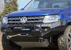 Drivetech 4x4 by RIVAL Aluminium Bumper fits VW Amarok DT-2D58071B fits Volks...