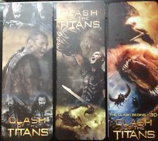 Clash of the Titans - Set of 3 Bookmarks
