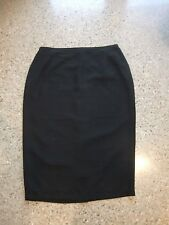 MY SIZE AUSTRALIA DESIGNER SKIRT LADIES SIZE 24 BLACK LONG POLYESTER STRAIGHT