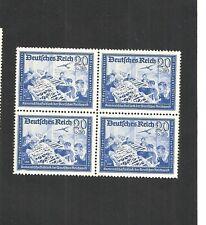 Deutsches Reich, 1941 Michelnr: 777 **, Viererblock postfrisch, Katalogwert € 50