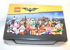 Lego Batman Series Collectible Minifigures Empty Cardboard Display Box 71017
