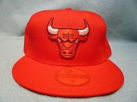 New Era 59fifty Chicago Bulls Color Prism Pack Sz 8 BRAND NEW Fitted cap hat red