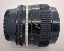 Nikon 55mm f3.5 AI manual focus Close up Lens genuine Micro Nikkor