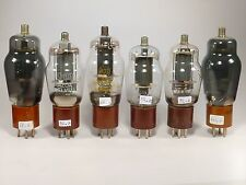 6 * 807 4Y25 VT100 beam tetrode tubes, all tested and give various anode current