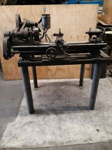 """Classic Vintage Antique South Bend 9"""" Lathe, 3 1/2 bed With Stand"""