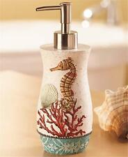 BARBADOS TROPICAL PARADISE BATHROOM KITCHEN COUNTER SOAP LOTION PUMP DISPENSER