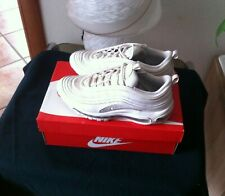 Nike Air Max 97 White Reflect Silver  - EUR 40  cm.25- Usato Con Scatola