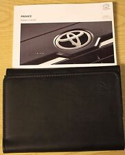 TOYOTA PROACE OWNERS MANUAL HANDBOOK WALLET 2013-2016 PACK 11996