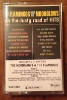 The Flamingos Meet The Moonglows On The Dusty Road Of Hits Cassette Tape