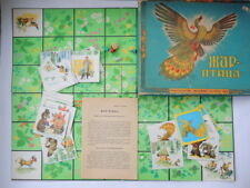 1980's Fairy Tales Kids Game Table Board Fun Family Vintage Soviet Russian Toy