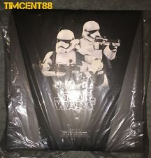 Hot Toys MMS319 Star Wars EP VII The Force Awakens First Order Stormtroopers Set