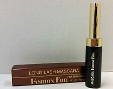 Long Lash Mascara By Fashion Fair Lot F Brown Black 6520 New In Box