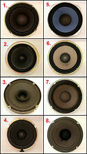 Assorted 6 - 6.5 inch SONY AKAI TOSHIBA KENWOOD etc Speakers