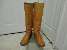 """EXCELLENT COND VINTAGE 60'S BLACK LABEL FRYE 16.5"""" TALL CAMPUS BOOTS MOTORCYCLE"""