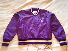 Vintage BIKE Brand NFL Minnesota Vikings V Neck Pullover Purple/Yellow Med Mint