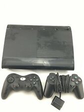 Sony PlayStation 3 - Slim 500GB Black Console - with 2 Controllers - 1 is PS3