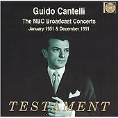 "CD x 4 BOX SET TESTAMENT SBT4-1336 ""Guido Cantelli Conducts"" - NBC Jan-Dec 1951"