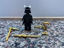 Lego Ninjago Minifigure Lord Garmadon 4 Arms, Armor, Original Weapons 9450 9446!