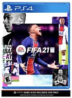 FIFA 21 -- PS4 / PS5 BRAND NEW FACTORY SEALED Standard Ed. (Sony PlayStation 4)