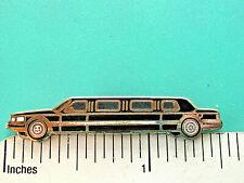 LINCOLN limosine - hat pin , tie tac , lapel pin , hatpin GIFT BOXD dg   bk