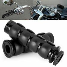 "Motorcycle Handle Bar Hand Grips 1"" For Harley-Davidson Softail Street 750 500 H"