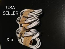 5X Micro USB Charger Charging Sync Data Cable For Samsung Galaxy 4 S5 S6 Note 4