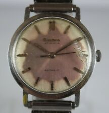 VTG M7 1967 Bulova Automatic 23 Jewels Cal.11ALAC 34mm Mens Watch LOT#616