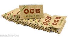 OCB Chanvre Bio - Lot de 20 Carnets de 100 Feuilles