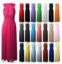 Spring Stretch Women's Maxi Dresses